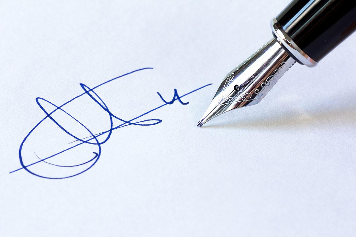 Проверка достоверности вывода экспертизы почерка и подписи